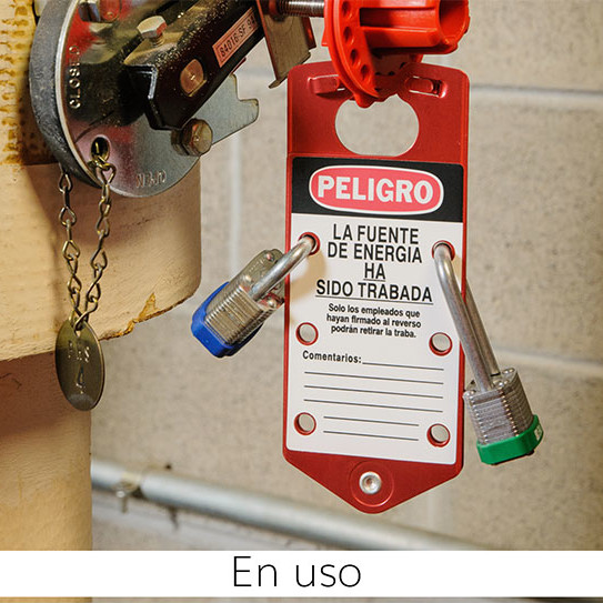 Aspa de Bloqueo de aluminio -en español-