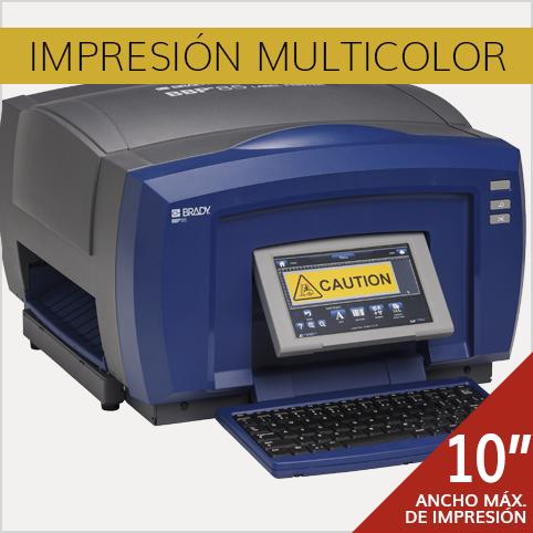 Equipo de Impresión Multicolor Brady BBP85