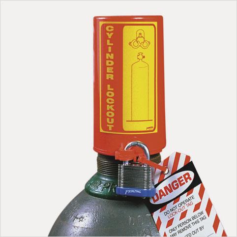 Bloqueo para Cilindro de Gas