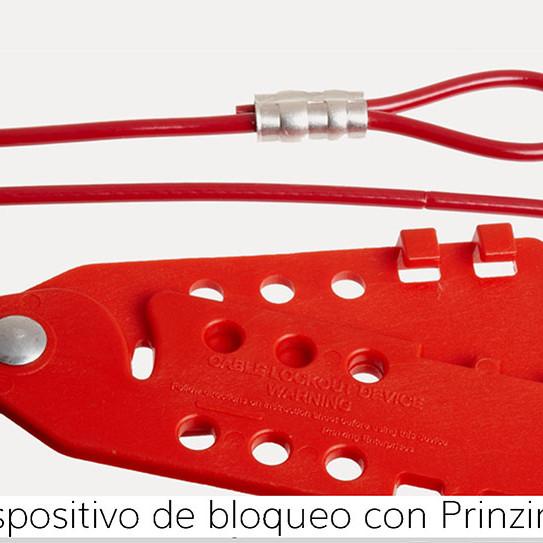Dispositivo de bloqueo con cable Prinzing Economy